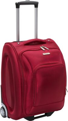 Travelon Wheeled Underseat Carry-On Luggage - 18 inch Red - Travelon Kids' Luggage