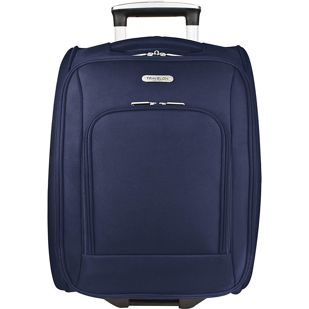 travelon wheeled underseat carry on luggage 18 5 colors. Black Bedroom Furniture Sets. Home Design Ideas