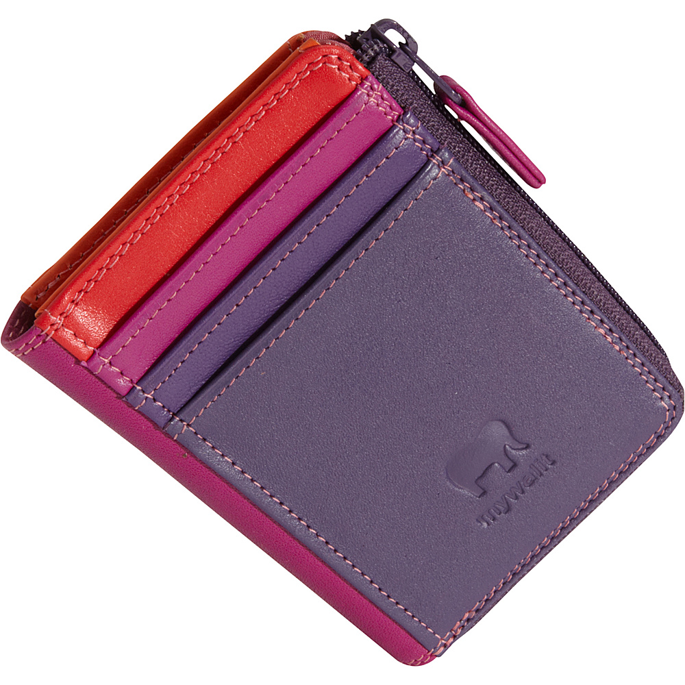 MyWalit Zip Purse ID Holder Sangria - MyWalit Women's Wallets