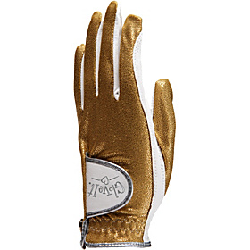 Gold Bling Glove Gold Left Hand Large