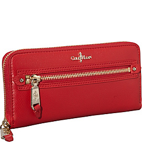 Linley Tablet Zip Wallet Tango Red