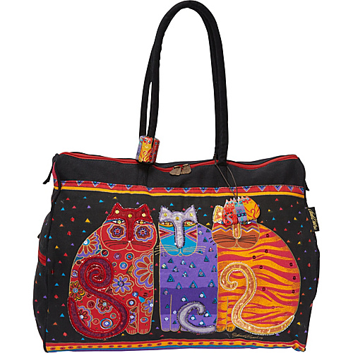 Laurel Burch Feline Friends Multi - Laurel Burch All Purpose Duffels