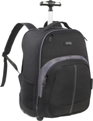 Targus Compact Rolling Laptop Backpack - 16 inch Black - Targus Business & Laptop Backpacks