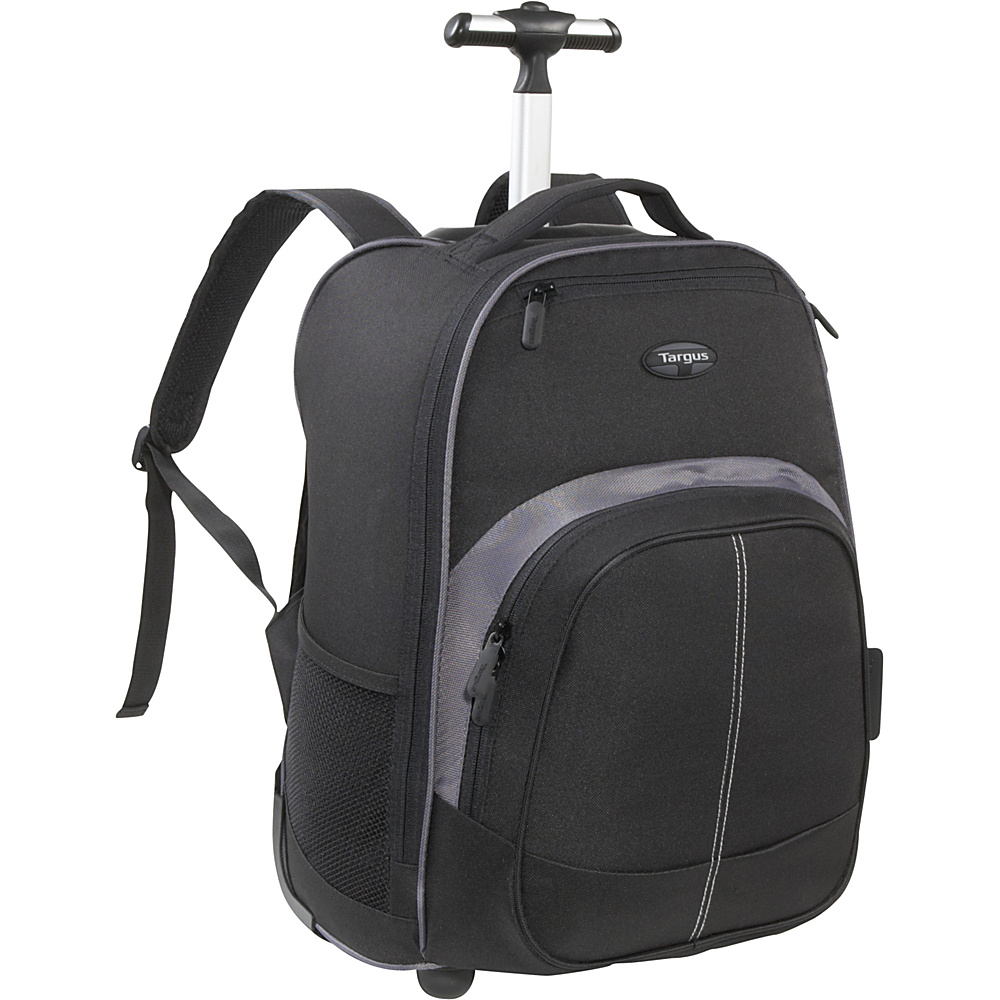 Targus Compact Rolling Laptop Backpack 16 Black Targus Business Laptop Backpacks