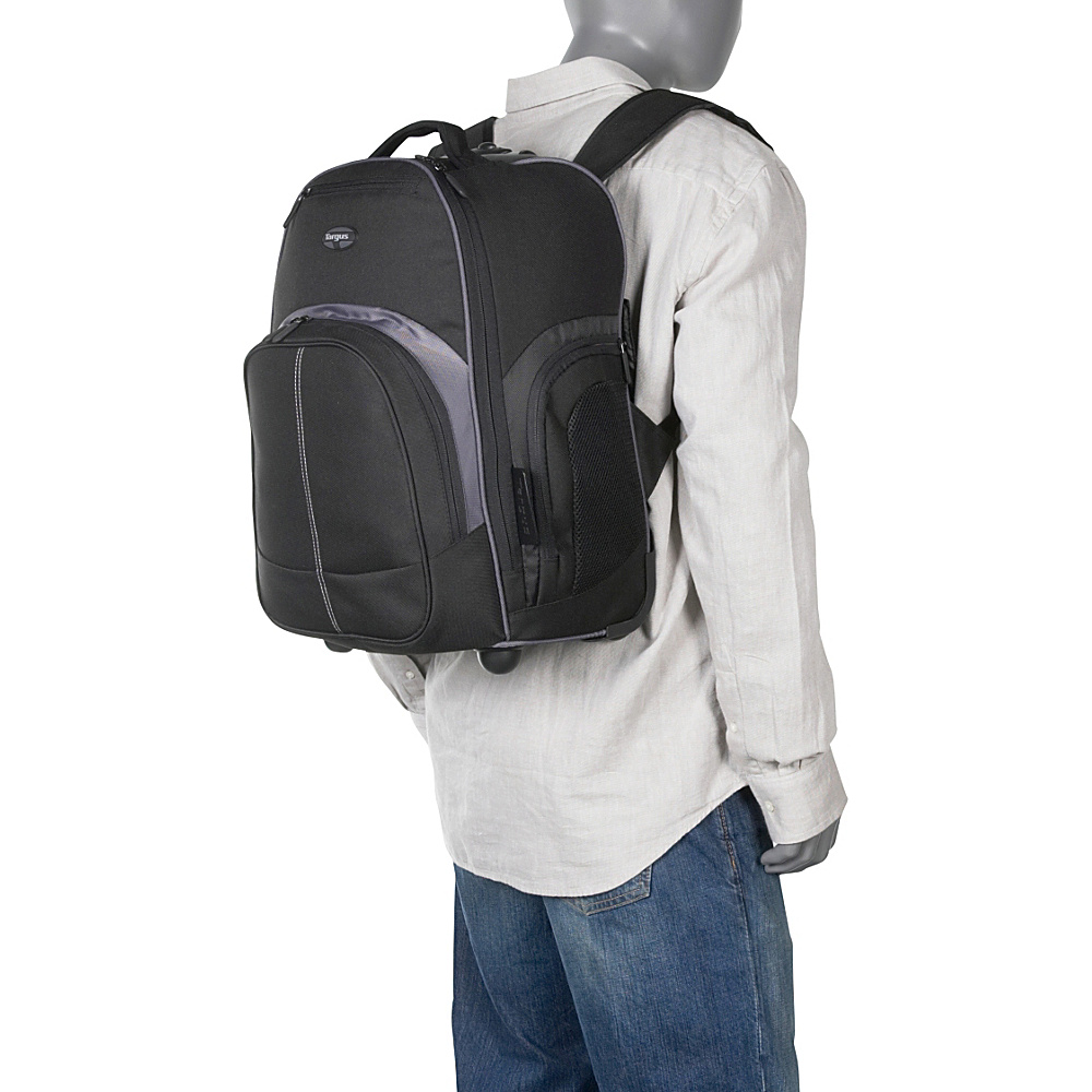 "Targus Compact Rolling Laptop Backpack - 16"" 1 Colors ..."