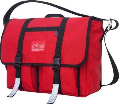 Manhattan Portage Trotter 15 inch Laptop Messenger Bag Red - Manhattan Portage Messenger Bags