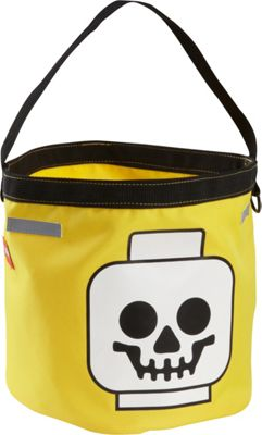 LEGO LEGO Halloween Bucket Yellow Gold with Blue & Red - LEGO Everyday Backpacks