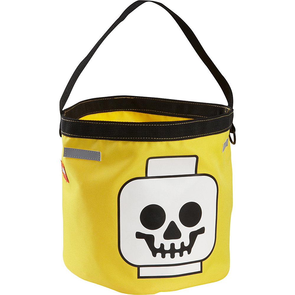 LEGO LEGO Halloween Bucket Yellow Gold with Blue amp; Red LEGO Everyday Backpacks