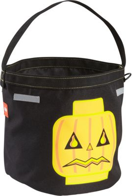 LEGO LEGO Halloween Bucket Black with Blue, Red & Gold - LEGO Everyday Backpacks
