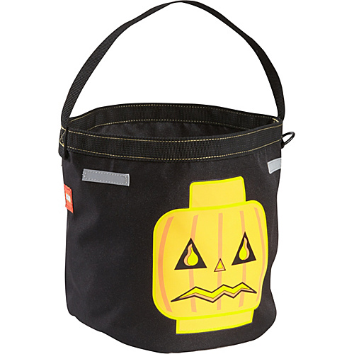 LEGO LEGO Halloween Bucket Black with Blue, Red & Gold - LEGO Kids' Backpacks