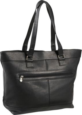 Le Donne Leather 16 inch Laptop Business Tote Black - Le Donne Leather Women's Business Bags