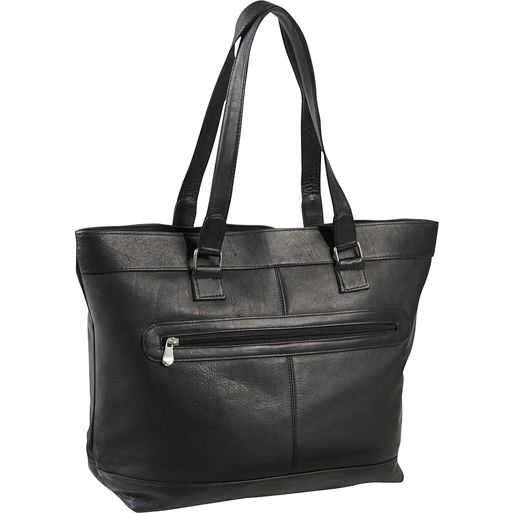 Le Donne Leather 16 Laptop Business Tote Black - Le Donne Leather Womens Business Bags - Work Bags & Briefcases, Women's Business Bags