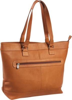 Le Donne Leather 16 inch Laptop Business Tote Tan - Le Donne Leather Women's Business Bags