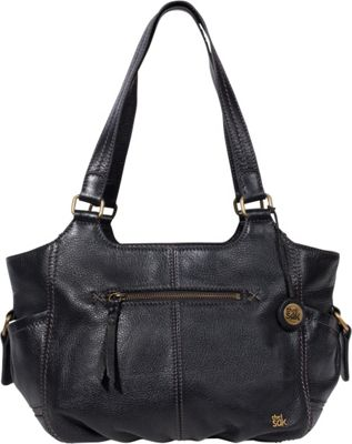 The Sak Kendra Satchel Black - The Sak Leather Handbags