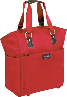"""Image of biaggi Contempo Ladies 16"""" Soft Fashion Tote Red - biaggi Luggage Totes and Satchels"""
