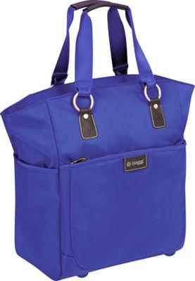 "Image of biaggi Contempo Ladies 16"" Soft Fashion Tote Cobalt Blue - biaggi Luggage Totes and Satchels"