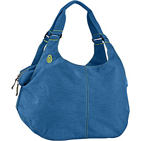 Eco-Friendly Full-Cycle Scrunchie Yoga Tote - M Blue