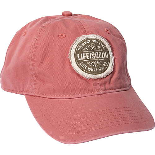 f55ea4fa533 Life is good Women s Tattered Chill Cap Brick Red - Life is good Hats  (10211793
