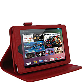 Multi-Angle Folio Case for Google Nexus 7 Red