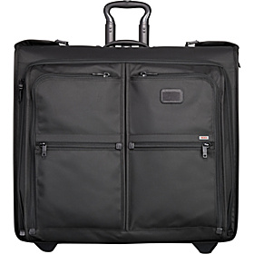 Alpha Long Wheeled Garment Bag Black