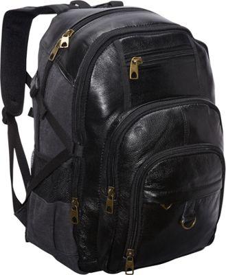 Leather Backpack Laptop elEk6Nm5