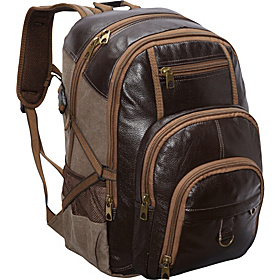 Laptop Backpack BROWN