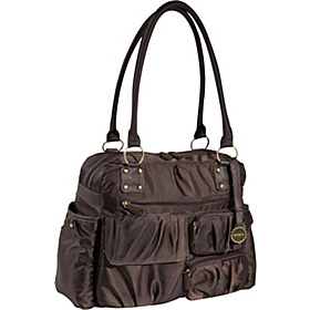Carters Multi Front Pocket Fashion Duffle Brown