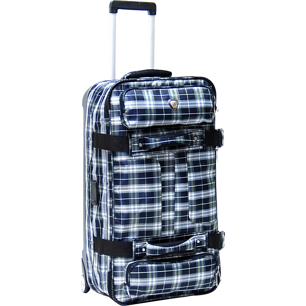 "CalPak Supra 30"" Duffel Bag - CLOSEOUT Marine Plaid - CalPak Travel Duffels"