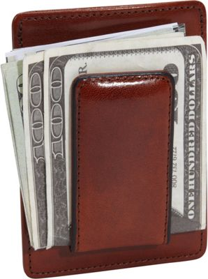 Bosca Old Leather Deluxe Front Pocket Wallet Old Leather Amber