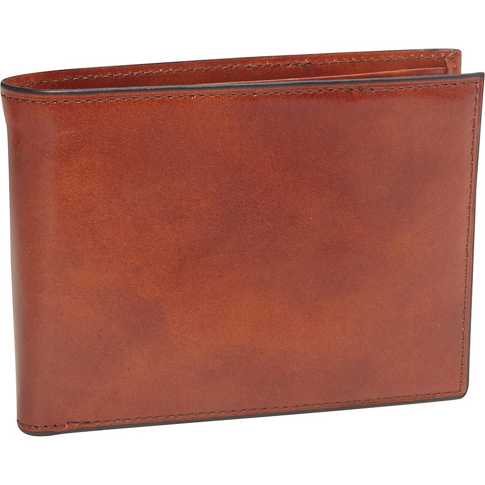 Bosca Old Leather 8 Pocket Deluxe Executive Wallet Old Leather Amber (27) - Bosca Men's Wallets