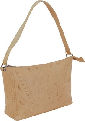 Ropin West Clutch Purse Natural - Ropin West Leather Handbags