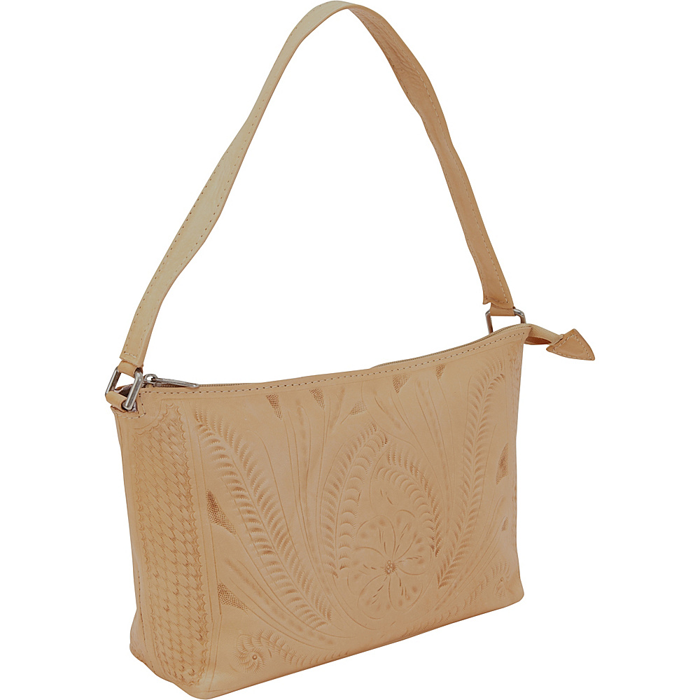 Ropin West Clutch Purse Natural Ropin West Leather Handbags