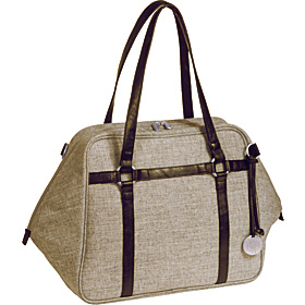 Green Label Urban Diaper Bag Chocolate Melange