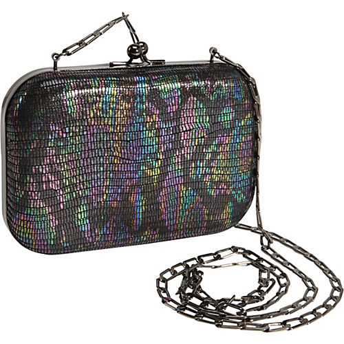Inge Christopher Zelda Minaudiere Black Multi - Inge Christopher Manmade Handbags
