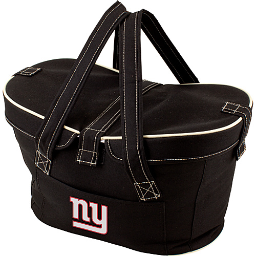 Picnic Time New York Giants Mercado Collapsible Cooler New York Giants Black - Picnic Time Travel Coolers