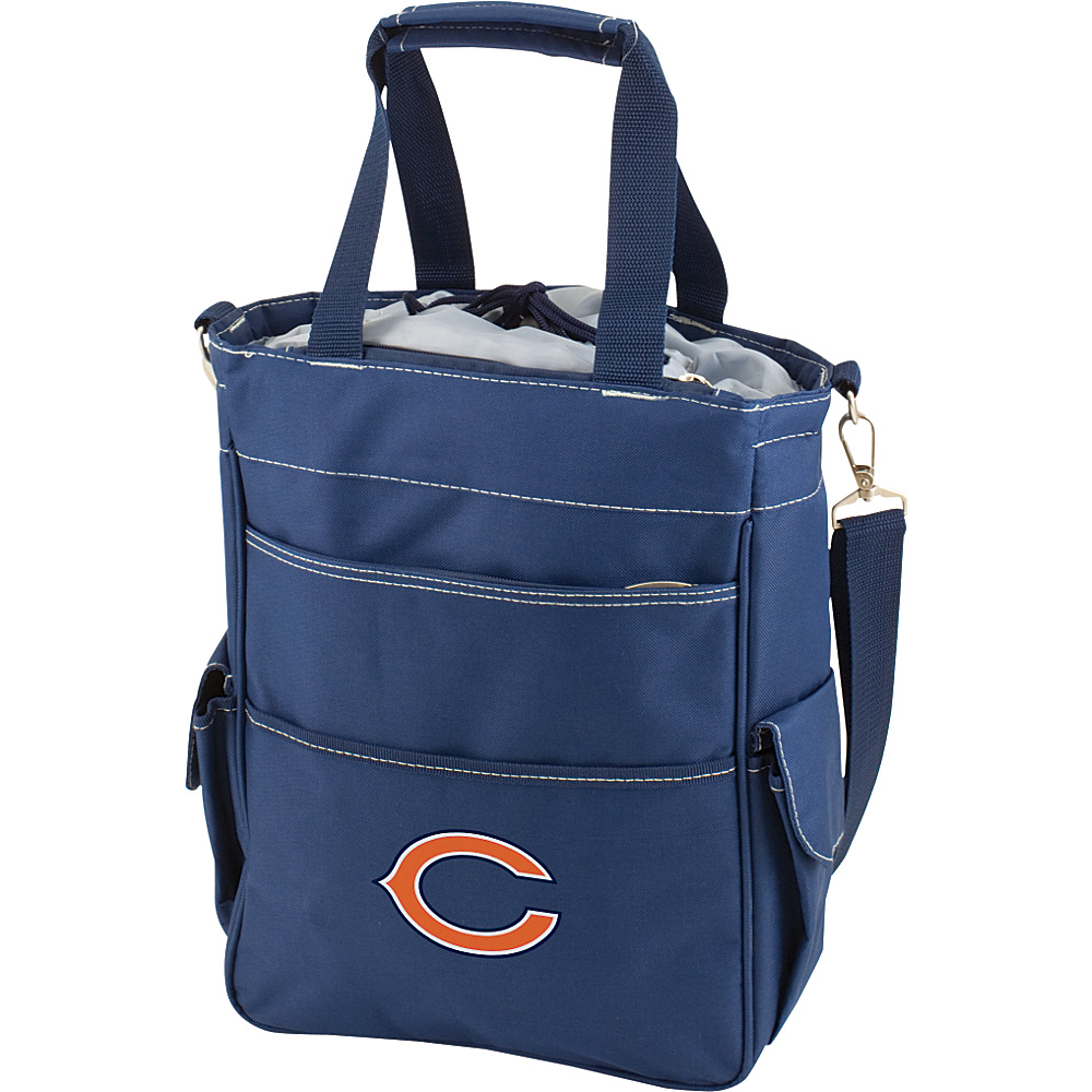 Picnic Time Chicago Bears Activo Cooler Chicago Bears Navy - Picnic Time Outdoor Coolers - Outdoor, Outdoor Coolers