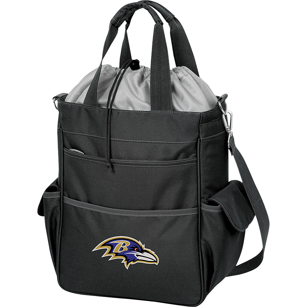 Picnic Time Baltimore Ravens Activo Cooler Baltimore Ravens Black - Picnic Time Outdoor Coolers - Outdoor, Outdoor Coolers