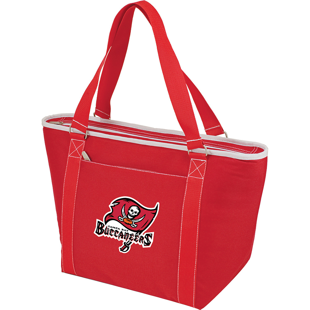 Picnic Time Tampa Bay Buccaneers Topanga Cooler Tampa Bay Buccaneers Red - Picnic Time Outdoor Coolers - Outdoor, Outdoor Coolers