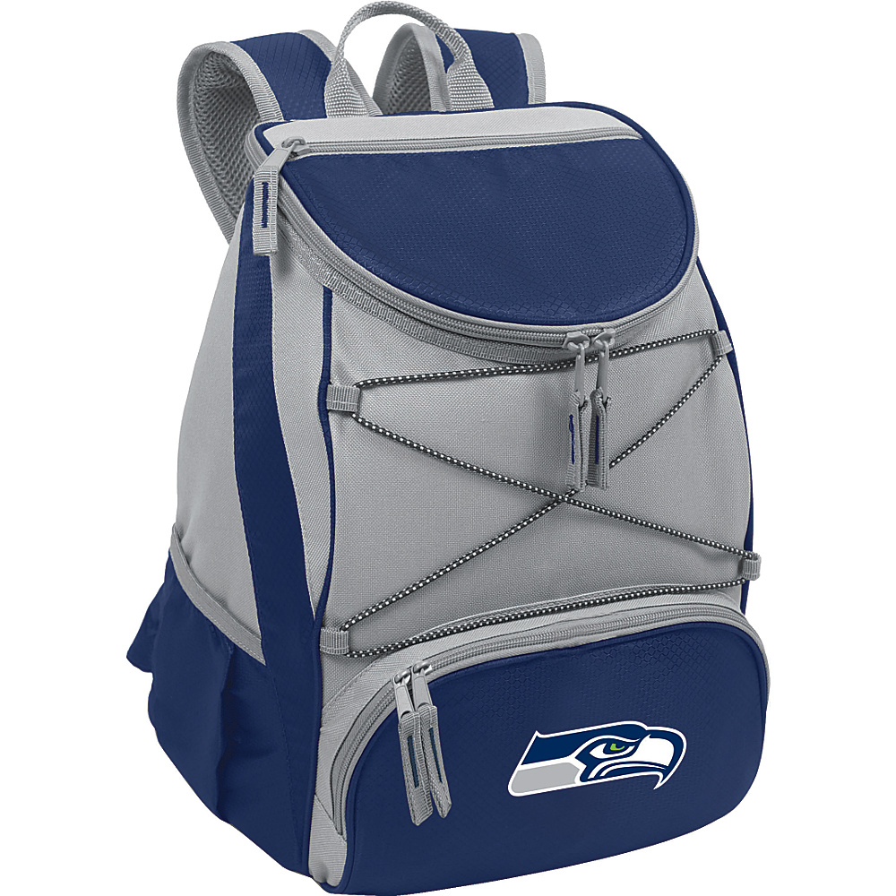 Picnic Time Seattle Seahawks PTX Cooler Seattle Seahawks Navy - Picnic Time Outdoor Coolers - Outdoor, Outdoor Coolers