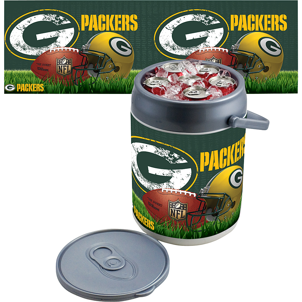 Picnic Time Green Bay Packers Can Cooler Green Bay Packers - Picnic Time Outdoor Coolers - Outdoor, Outdoor Coolers