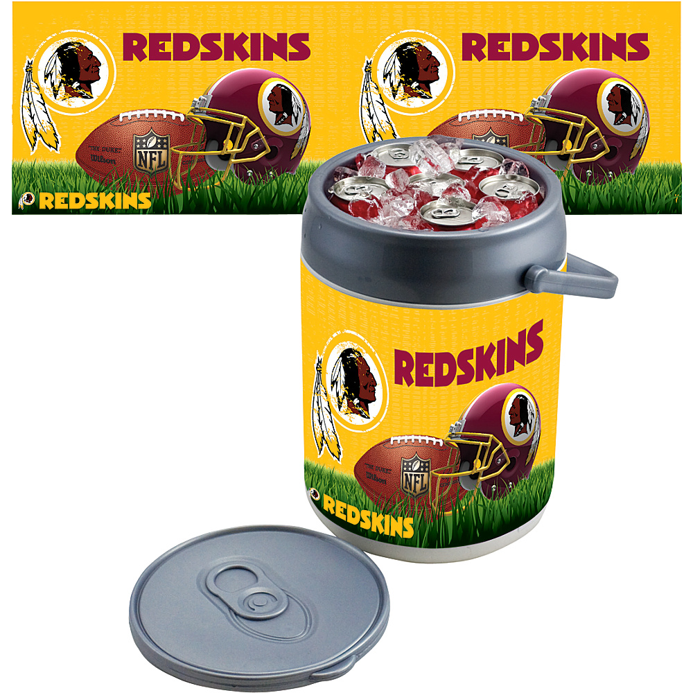 Picnic Time Washington Redskins Can Cooler Washington Redskins - Picnic Time Outdoor Coolers - Outdoor, Outdoor Coolers