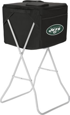 Picnic Time New York Jets Party Cube New York Jets Black - Picnic Time Travel Coolers