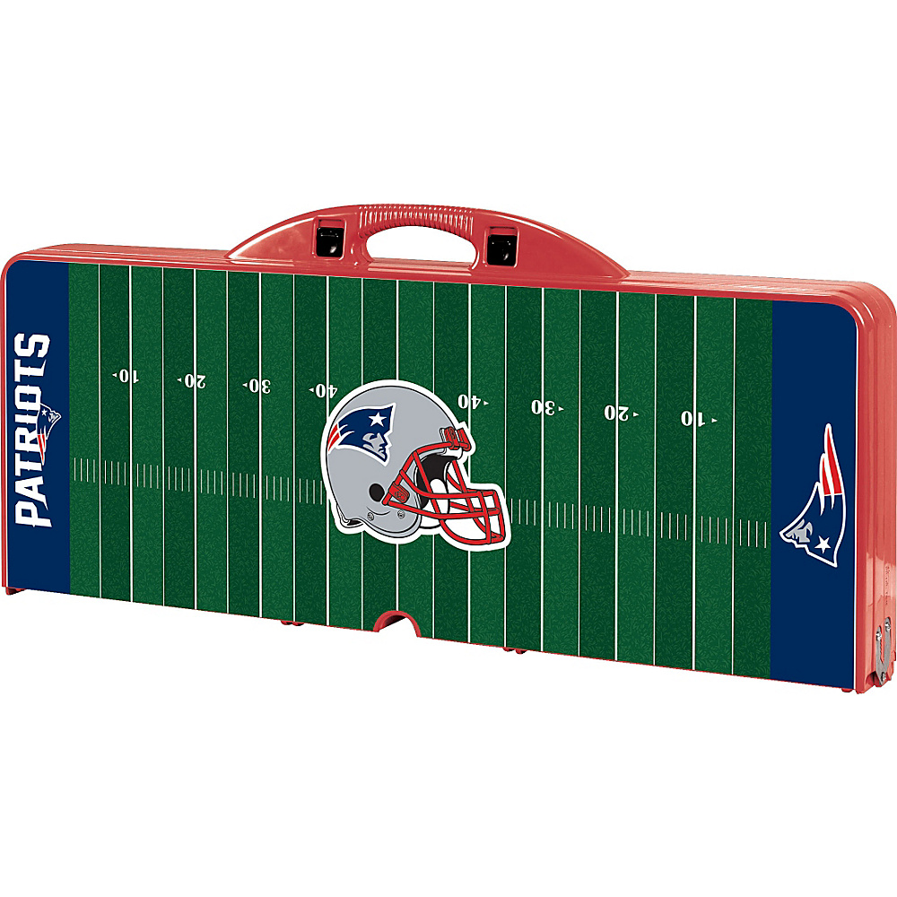 Picnic Time New England Patriots Picnic Table Sport New England Patriots Red - Picnic Time Outdoor Accessories - Outdoor, Outdoor Accessories