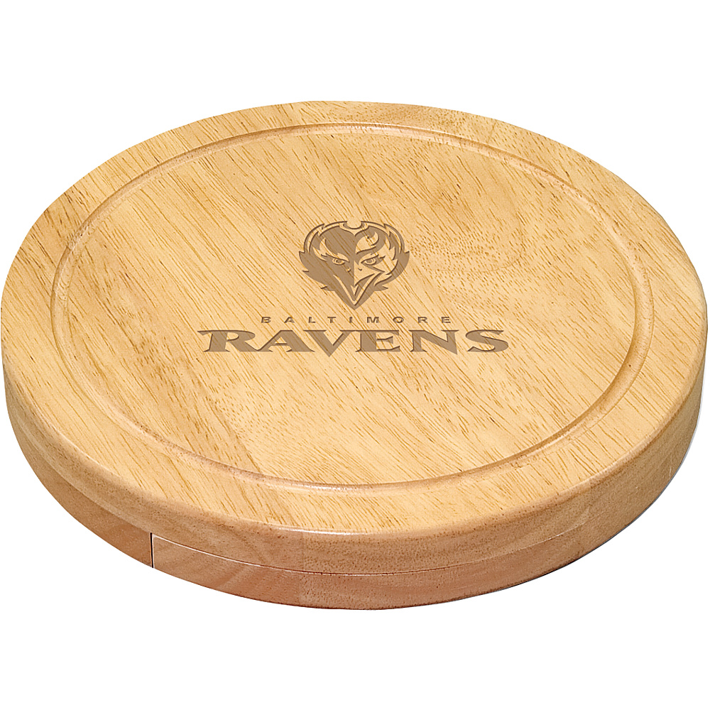 Picnic Time Baltimore Ravens Cheese Board Set Baltimore Ravens - Picnic Time Outdoor Accessories - Outdoor, Outdoor Accessories