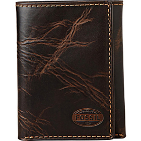 Norton Trifold Wallet Brown