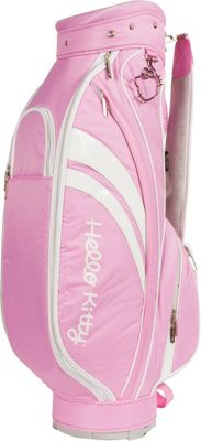 Hello Kitty Golf Hello Kitty Diva Cart Bag Pink - Hello Kitty Golf Golf Bags