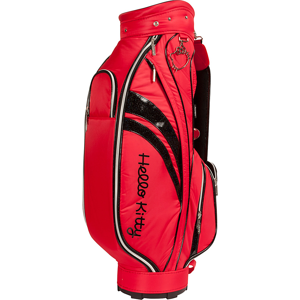 Hello Kitty Golf Diva Collection Cart Bag - Red