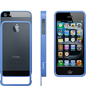 Aluminum Bumper for iPhone 5 Blue