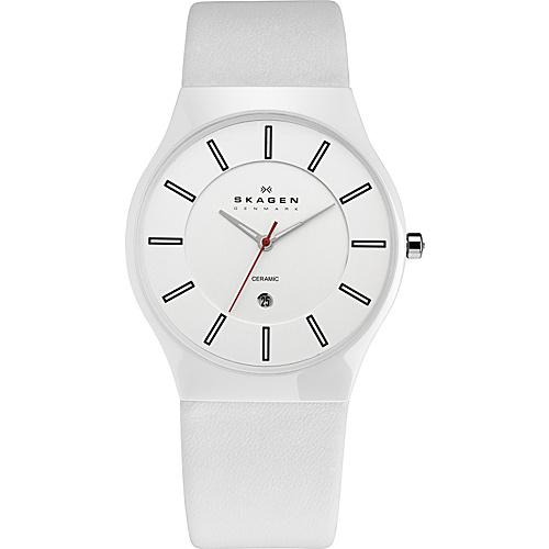 Skagen White Label White - Skagen Watches (10223663 233XLCLW-White) photo