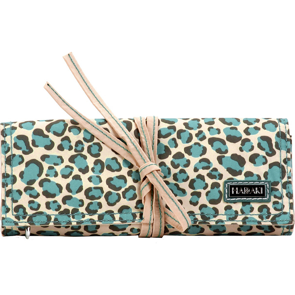 Hadaki Nylon Jewelry Roll Primavera Cheetah - Hadaki Travel Organizers - Travel Accessories, Travel Organizers